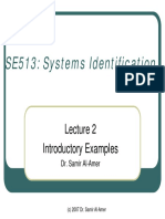 SE513 Lect2 Introductory Examples