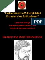 Evaluación de la Vulnerabilidad Estructural en Edificaciones