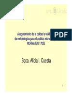 Validacion Metodos Microbiologicos ISO 17025