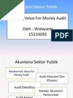 Value for Money Audit