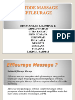 Metode Massage Effleurage