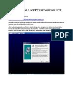 Cara Install Software Nowsms Lite