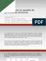 3.6 Operación en Paralelo de Generadores Sincronos