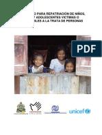 282 Comisión Interinstitucional Protocolo para Repatriación de Niños, Niñas y Adolescente Victimas