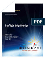 Itron Water Meter Overview