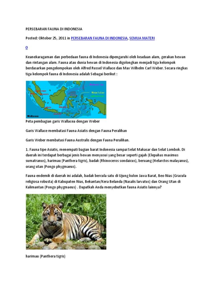 62 Hewan Seperti Gambar Berikut Merupakan Fauna Endemik Dari Daerah HD Terbaru