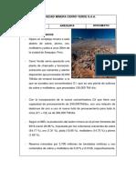 Mineras en El Peru