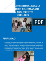 Plan Prevencion Embarazo Adolescentes