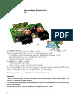 SSP 017 OCTAVIA Système de Lélectronique Confort