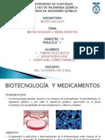 Biotecnologia y Medicamentos