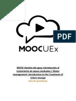 Guía Aprendizaje MOOC Aguas