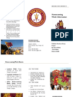 group project-asu homecoming week brochure