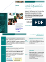Integracion Del Sye en El Diseño de Progeamas de Seguridad Alimentaria