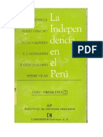 La Independencia de Perú