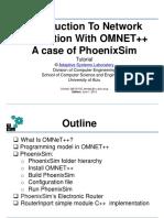 3. PhoenixSim Tutorial