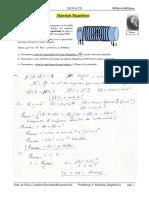 Problemas (05) - Materiais Magnéticos