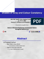 Another informative Article on Color Constancy