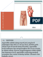 ASUHAN KEPERAWATAN Appendicitis  power point