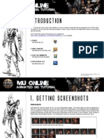 Mu Online Animated Forums Signature Tutorial v.1.0.0