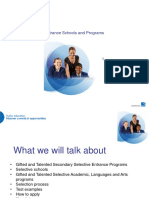 Gifted and Talented presentation