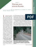 Drenaje Para Caminos Rurales