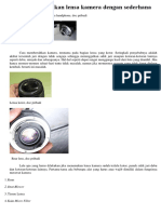 4.2 Perawatan Lensa