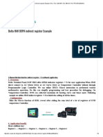 Delta Hmi Dopa Indirect Register Example _ Plc, Plc Ladder, Plc eBook, Plc Programming,
