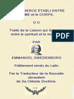 Du Commerce de l'Ame Et Du Corp - Swedenborg
