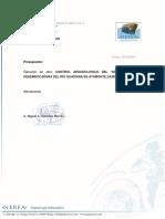 Presupuesto Arqueología Ayamonte