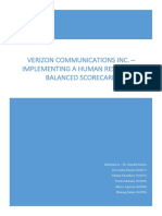 Verizon  Balanced Scorcard