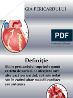 Patologiile Pericardului
