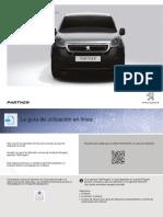 Manual Uso Peugeot Partner 2015