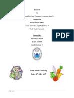 ENG 105 SEC 37 Research Paper