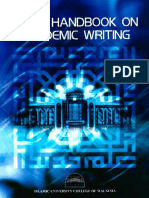 USIM Handbook on Academic Writing.pdf