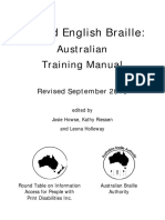 UEB Australian Training Manual Revised September 2016