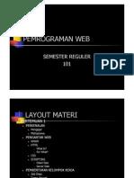 Desain Dan Pemrograman Web Part 1
