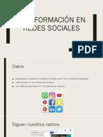 La información en redes sociales