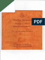Wedding Invitation of Pradeep Sharma
