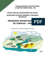Program a Departamental Cuenca s Potosi