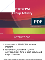 Group Activity - PERT_CPM