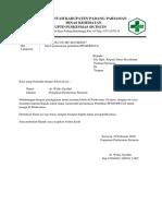 Surat Permintaan Pelatihan PPGD