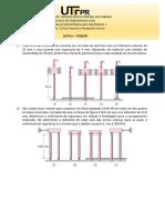 Lista UTFPR - Resistência dos Materiais 2
