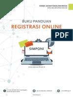 Buku Panduan Registrasi Online SIMPONI