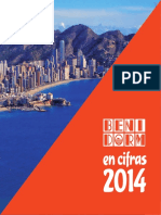 Benidorm en Cifras 2014