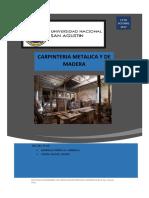 Carpinteria Metalica y de Madera