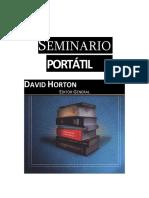 David Horton - Seminario Portátil
