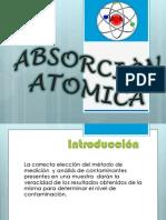 Absorción atomica