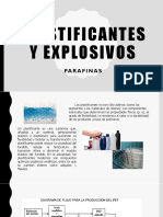 PLASTIFICANTES EXPLOSIVOS