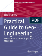Practical Guide to Geo-Engineering - Milutin Srbulov