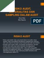 Risiko Audit, Materialitas Dan Sampling Dalam Audit